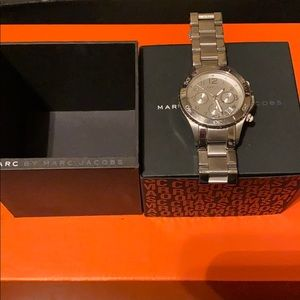 Women's Chronograph Silver Watch